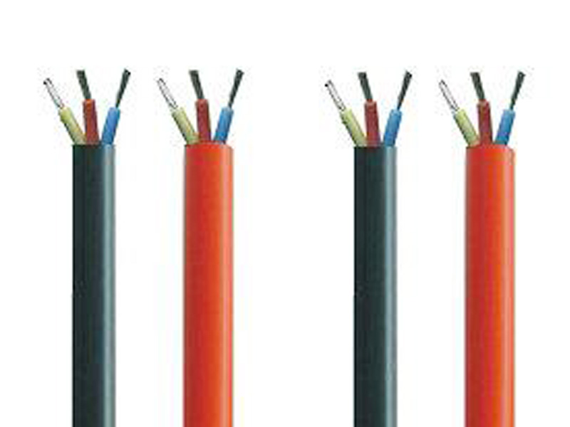 High voltage ignition wires with damping cores for road vehicles