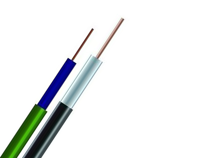 Copper core high voltage ignition wires for road vehicles