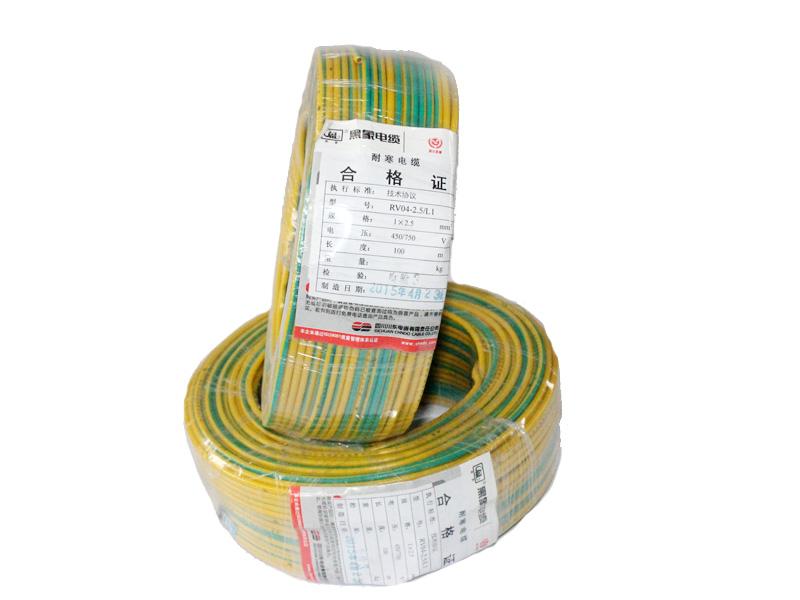 额定电压450/750V及以下聚氯乙烯绝缘安装用电线
