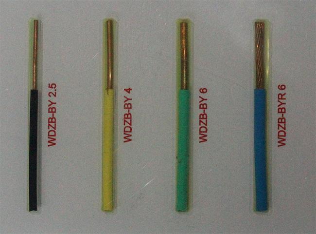 额定电压450/750V及以下无卤低烟阻燃聚烯烃绝缘电缆