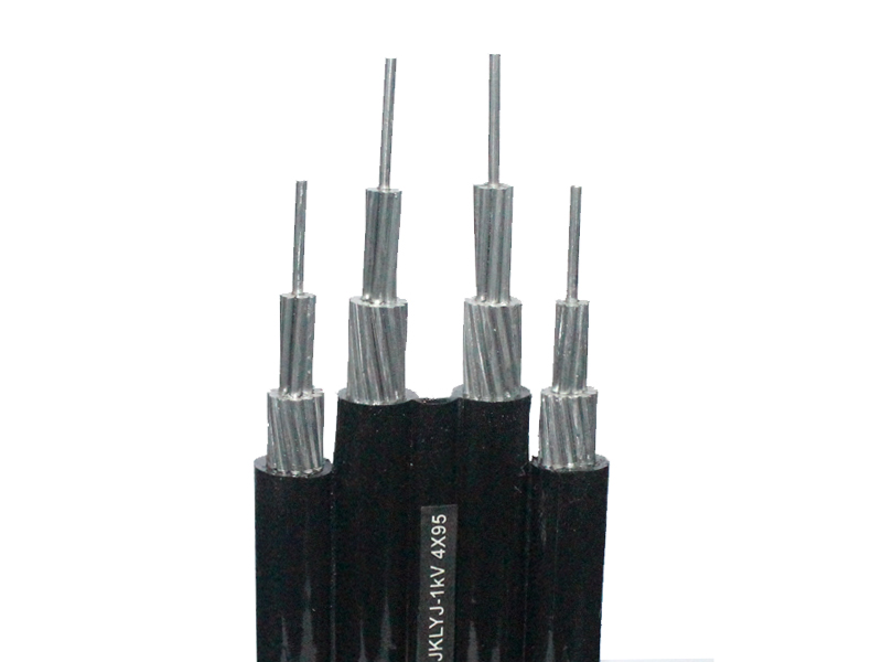 Overhead insulated cables with rated voltage of 1kV and below